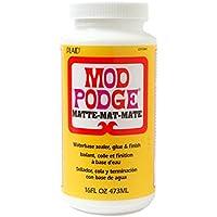 Plaid:Craft Isolant et finition à base d'eau Mod Podge, Multicolore, 473ml