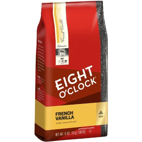 eight-oclock-french-vanilla-ground-coffee-11-ounce-bags-pack-of-6-by-eight-oclock-coffee