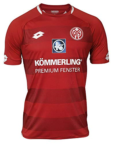 LOTTO Erwachsene MAINZ 18 Home Jrs Jersey Short Sleeve, Flame, L