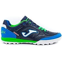 Joma Top Flex 803 Marino Turf - Scarpe Calcetto Uomo - Erba Sintetica - Men's Futsal Shoes (EU 41 - US 8)