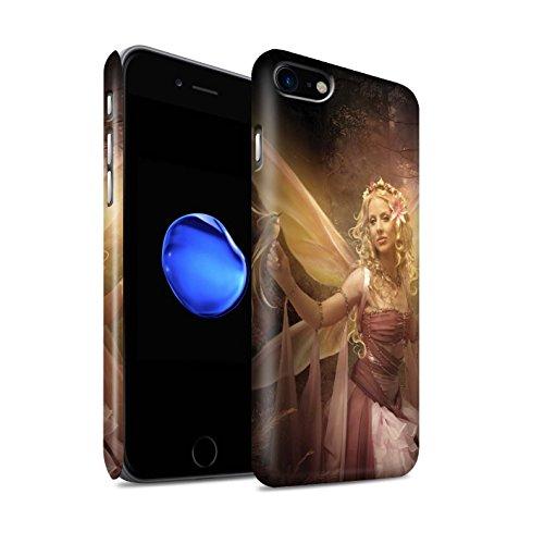 Officiel Elena Dudina Coque / Clipser Matte Etui pour Apple iPhone 7 Plus / Jardin Danse Design / Fées Élégantes Collection Femme Mystique
