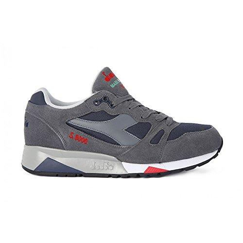 Sneaker Diadora Diadora - S8000 Italia - 1704703546 - Color: Gris - Size: 42.0