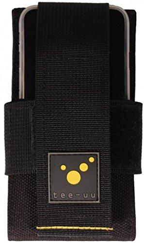 """tee-uu SMARTY Smartphone-Holster (geeignet für Geräte mit Displaygröße von bis zu 5,5\"""")"""