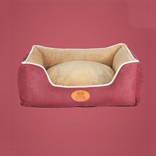 Yxiny casette per cani canile tappeto per animali domestici casa del cane prodotti per animali nido di gatto resistenza all'usura sacco a pelo dell'animale domestico rimovibile e lavabile