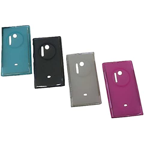 Caso de goma suave de TPU del silicón para Nokia Lumia 1020.