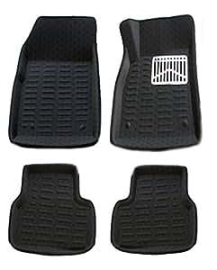 Vheelocity 86047 Premium Black 3D Floor Mat for Honda Mobilio