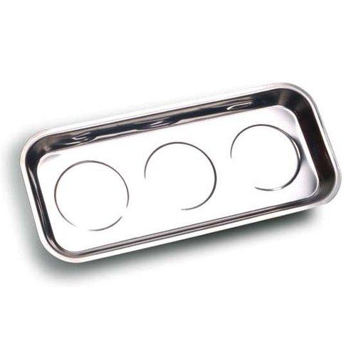 INOX Magnetschale/Werkzeugschalen Haftschale Magnetteller Magnettablett Magnethalter Magnetschüssel Größe XL 36 x 16 cm