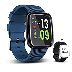 EUMI Smartwatch, Reloj Inteligente con IP67, Pulsera Actividad Inteligente