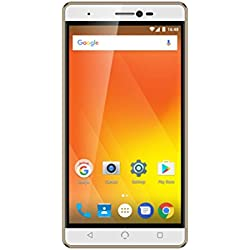 """NUU Mobile M3 32GB Dual-SIM, 5.5"""" inch Factory Unlocked 4G Android Smartphone - Gold"""