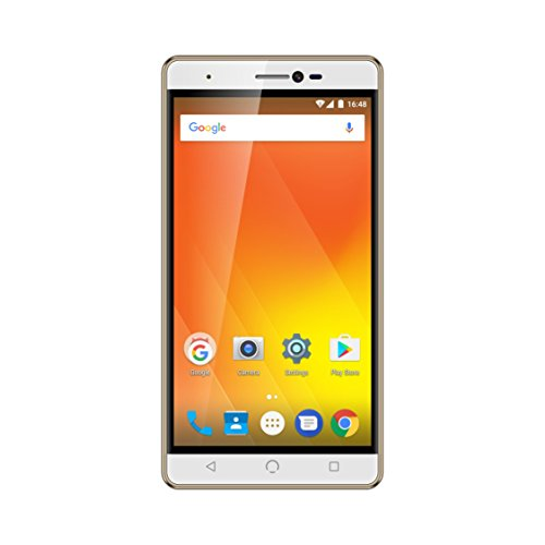 "NUU Mobile M3 32GB Dual-SIM, 5.5"" inch Factory Unlocked 4G Android Smartphone - Gold"
