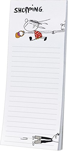 Rannenberg Kühlschrankblock Magnetblock Shopping 50 Blatt