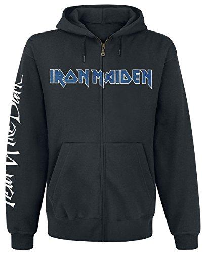 Iron Maiden Fear Of The Dark Kapuzenjacke schwarz L (Maiden Hoodie Iron)