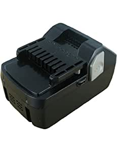 Batterie type HITACHI BSL 1830, Haute capacité, 18.0V, 3000mAh, Li-ion