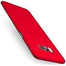 Cover Samsung Galaxy S8, Joyguard Custodia Samsung Galaxy S8 [Ultra sottile] [Leggera] Antigraffio Antiscivolo Case Shell per Samsung Galaxy S8 - 5.8 pollice - Rosso