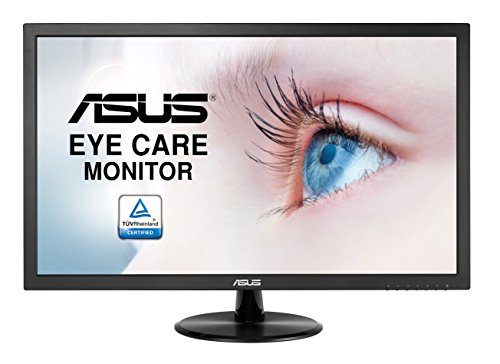 "Asus VP228DE - Monitor 21.5"" Full HD (1920 x 1080 píxeles, LCD, 5ms, contraste 100000000:1, 200 cd/m²), color negro"