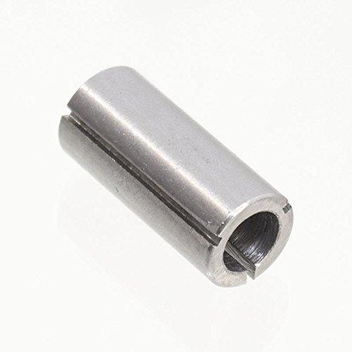 Spannzange 12,7 mm (1/2 Zoll) auf 8 mm Oberfräse Stabschleifer Reduzierhülse