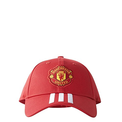 Adidas Mufc 3S Manchester United Fc Cap, Red/Rojrea/Blanco, One Size/Youth