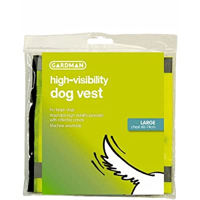 Gardman Hi Sichtbarkeit Hund Weste groß