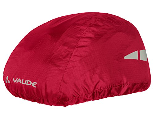 VAUDE Helmet Raincover Helmschutz, Indian Red, One Size