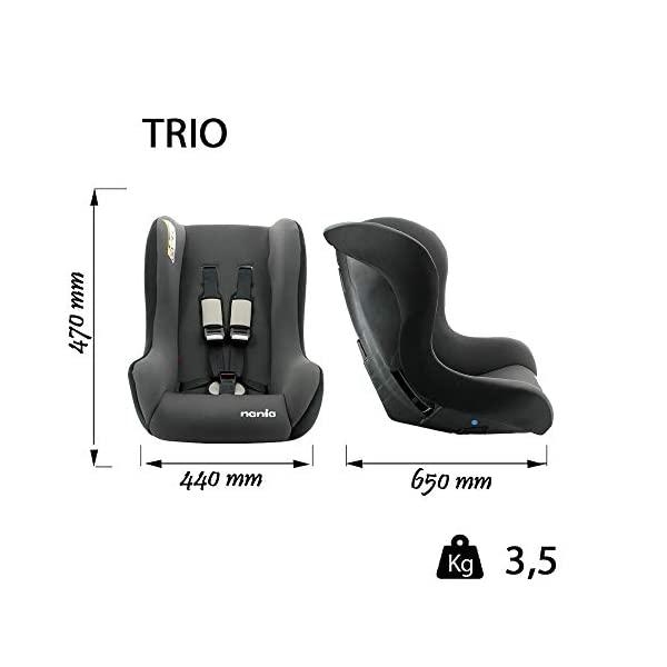 Car seat Group 0/1/2 (0-25kg) - Made in France - Side Protections -Approved ECE R44/04. MyCarSit Group 0/1/2 (0-25kg) Side protections approved ece r44/04. Made from 100% Francaise (Rhone Alpes)-Certified in France according to regulation standards ecer44-04-3Star test TCS 2