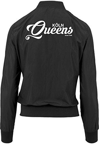Käln Queens Bomberjacke Girls Black Certified Freak-L