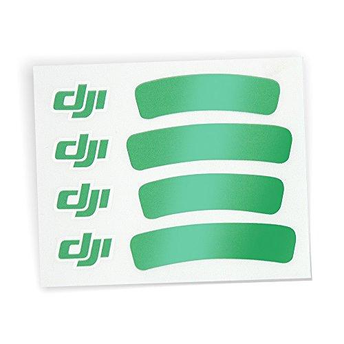 Preisvergleich Produktbild DJI Sticker Aufkleber Grün für DJI Phantom 3 III Standard Advanced Professinal