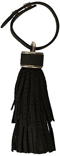 Liebeskind Berlin Damen Raleigh Hcpyth Schlüsselanhänger, Schwarz (Oil Black), 4 x 5 x 22 cm (Leder Damen Fransen)
