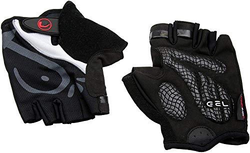 Ultrasport Fahrrad Handschuhe, schwarz, L