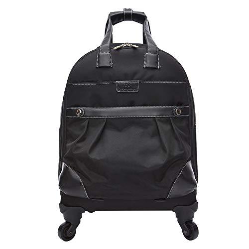 CYXYX Laptop-Rucksack, Trolley-Rucksack School Bookbag Für College-Reiserucksack Für 15,6-Zoll-Laptop Und Notebook,Black