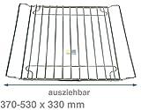 Universal Grillrost ausziehbar 37-53x33cm Backofen