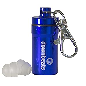 transporte aéreo para eventos: DownBeats Reusable High Fidelity Hearing Protection: Ear Plugs for Concerts, Mus...