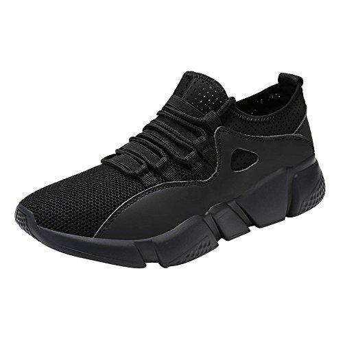 Chaussures de Sports Homme CIELLTE Sneakers Chaussures de Running Baskets en Mesh Entraînement Extensible Occasionnel Tennis Mixte Adul