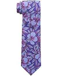Tommy Bahama Men's Hibiscus Happening Tie, Purple, One Size