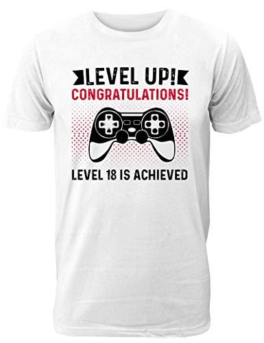 Kostüm Bester Freund Partner - Geburtstag T-Shirt Level Up - Geschenk zum 18. Geburtstag