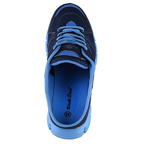 HSM , Mocassins pour homme Bleu marine/bleu