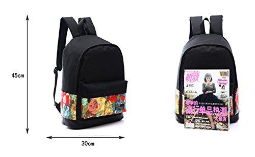 Ohmais Rücksack Rucksäcke Rucksack Backpack Daypack Schulranzen Schulrucksack Wanderrucksack Schultasche Rucksack für Schülerin Personen