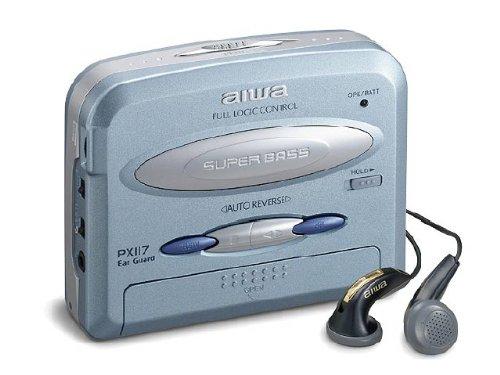 Aiwa HS Pixel 117 Walkman-Radio blau (Radio Aiwa)