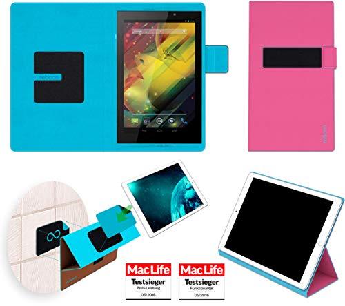 reboon Hülle für HP Slate 7 VoiceTab Tasche Cover Case Bumper   in Pink   Testsieger