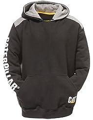 Caterpillar C1910802 - Sweatshirt à capuche et logo - Homme