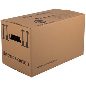 Perfekt 50 Umzugskartons (Profi) STABIL + 2 WELLIG/ Umzug Karton Kisten Verpackung  Bücher