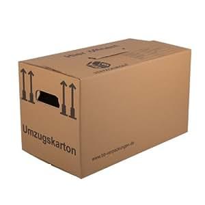 50 Umzugskartons (Profi) STABIL + 2-WELLIG/ Umzug Karton Kisten Verpackung Bücher Schachtel