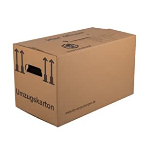 50 umzugskartons profi stabil 2 wellig umzug karton. Black Bedroom Furniture Sets. Home Design Ideas