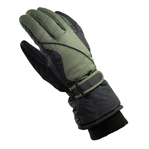 warm gants de ski/Cold-ajout coton cheval blouson imperméable à l'eau et le vent-abri/ gant extérieur B