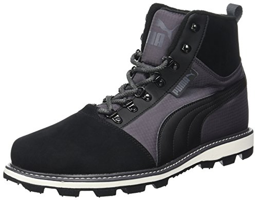 Puma Tatau Fur Boot 2, Sneakers Basses Mixte Adulte, Noir (Black-Asphalt), 47 EU
