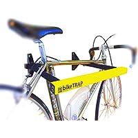 Candado y soporte antirrobo de pared para bicicletas bikeTRAP de alta seguridad. Guarda con tranquilidad