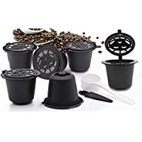 TAMETZONA Lot de 3 Capsules Filtres à Café Rechargeable Réutilisable Filtre Rechargeable pour Cafetière Nespresso Plus…