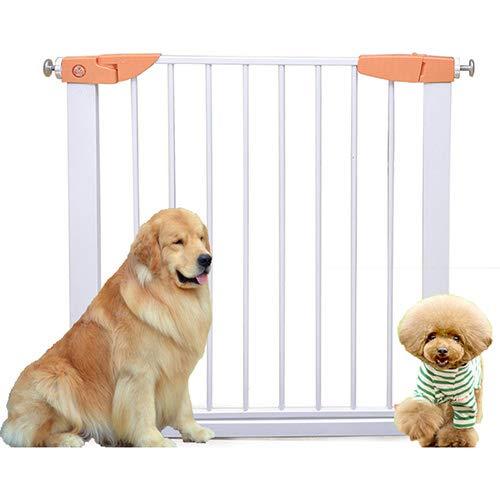QNMM Versenkbare Sicherheit Tor Hund Pet Barrier Folding Protector Home Decor Spaziergang Durch Pet Tor Geeignet Für Innen Eingang Halle Treppen (Tor Decor Home)