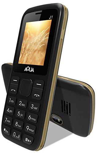 Aqua J1 - Dual SIM Basic Mobile Phone - Black
