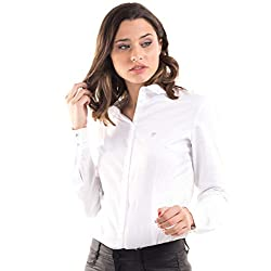 GUESS Camisa Blanca Sastre...
