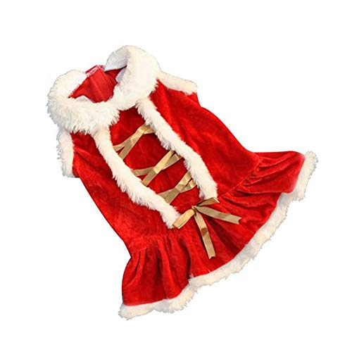 Santa Kostüm Classic - ASOSMOS Classic Red Christmas Hundebekleidung Santa Doggy Kostüme Kleidung Tierbekleidung